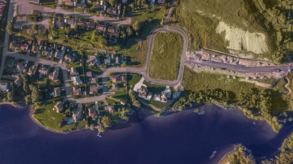Secteur St-Coeur-de-Marie près du lac. Nouveau développement