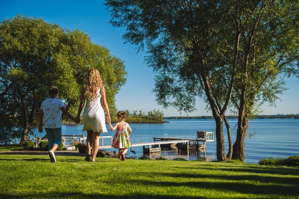 Plateau Fleury: lots avec accès au bord de l'eau près du lac à moins d'une heure de Chicoutimi